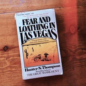 Vintage copy of FEAR & LOATHING IN LAS VEGAS 🌵🥃